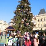 Výlet V.A do předvánoční Prahy