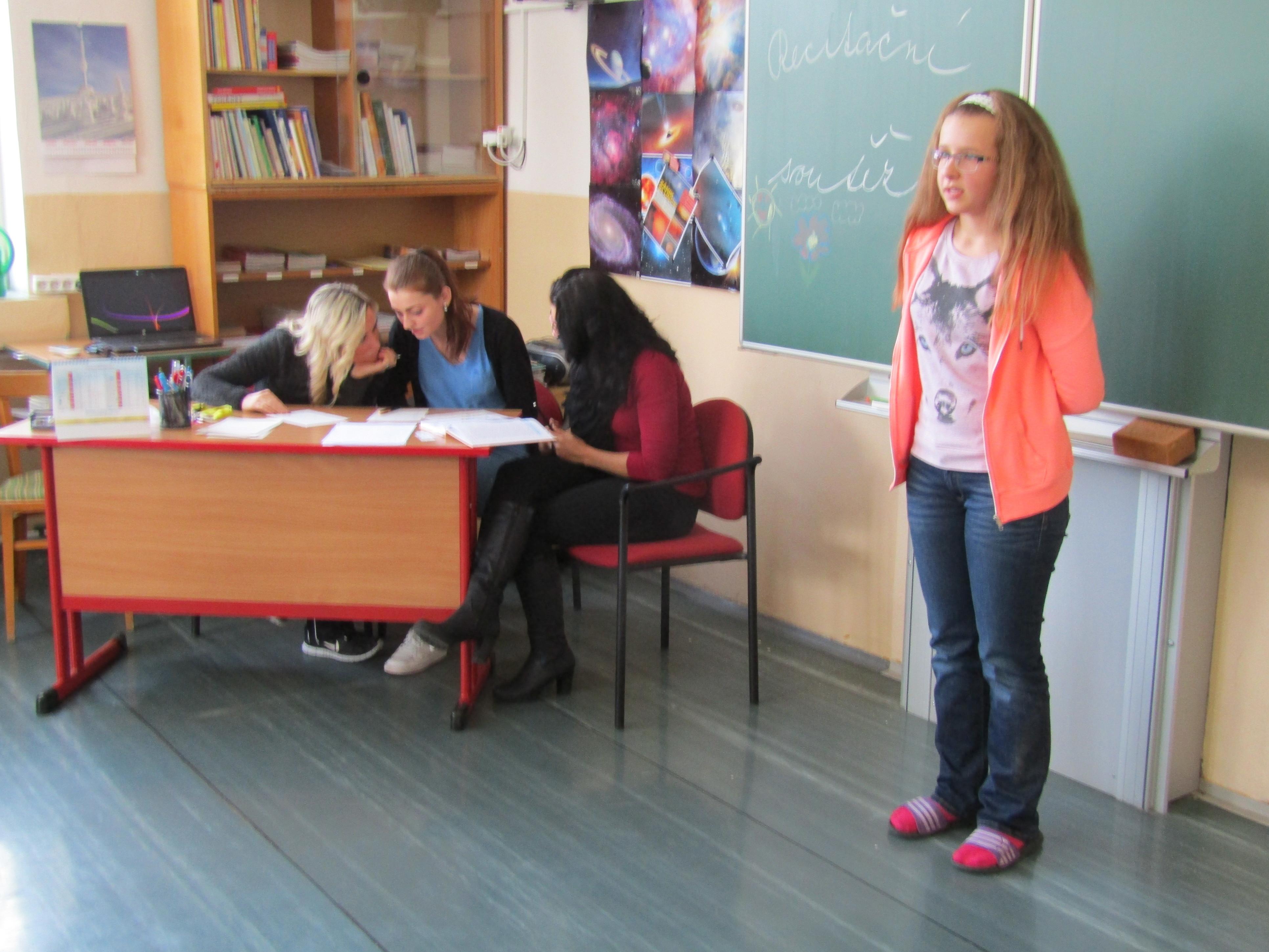 Recitační soutěž  4. a 5. tříd