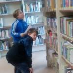 Návštěva knihovny – IV.B