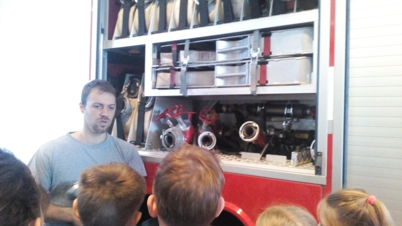 Návštěva u hasičů IV.B