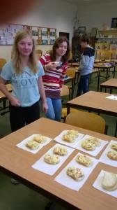 Společná svačina 8. třídy - bramborový salát