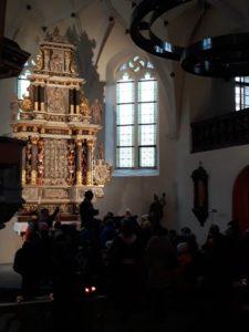 Vánoce v kostele sv. Floriana