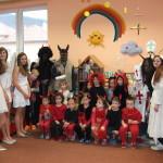 Mikuláš navštěvuje i děti z mateřské školky