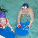 Hodiny plavání ve druhých třídách